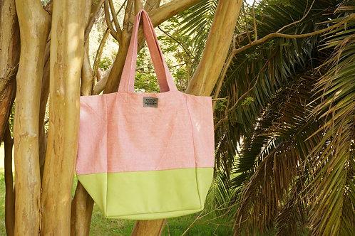 Pink Mint Tote Bag