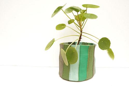 Cache Pot Vert Multicolore Petit