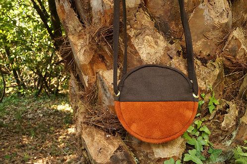 Chocolate Terracotta Round Bag
