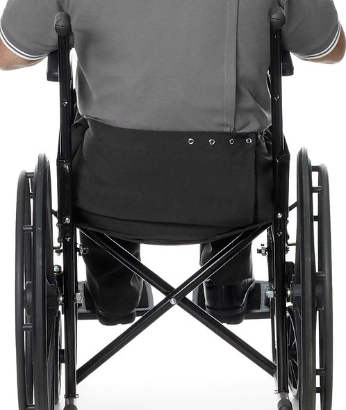 Bermuda masculina para cadeirante parte de trás