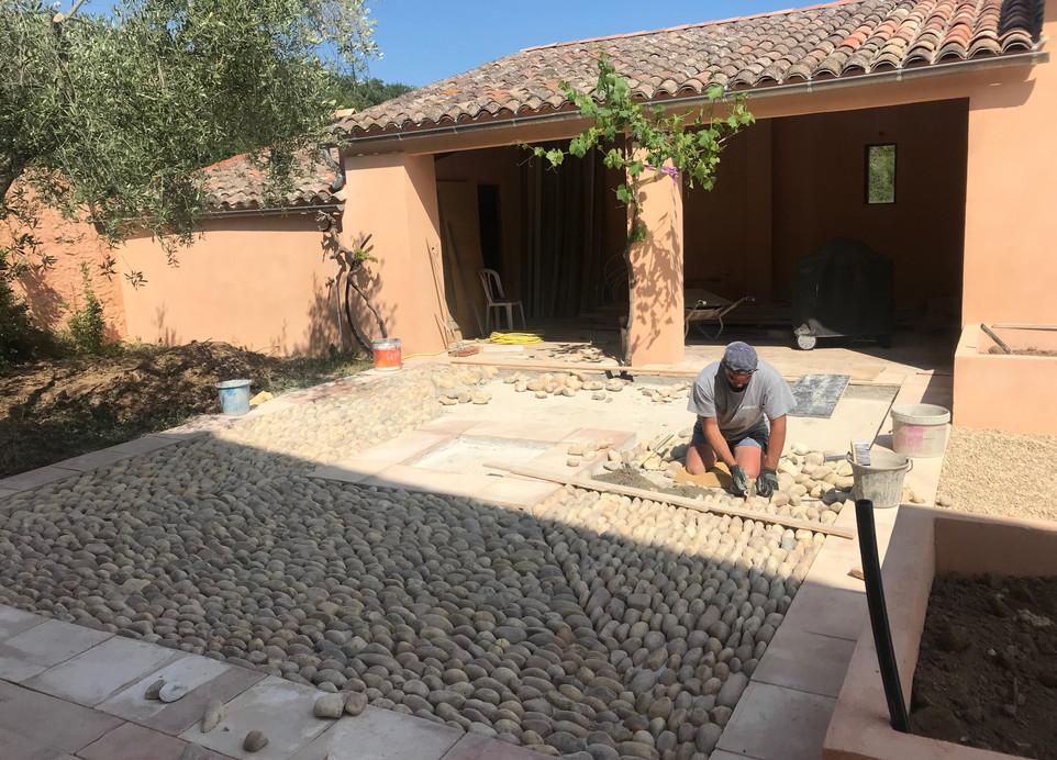 chantier de la calade patio