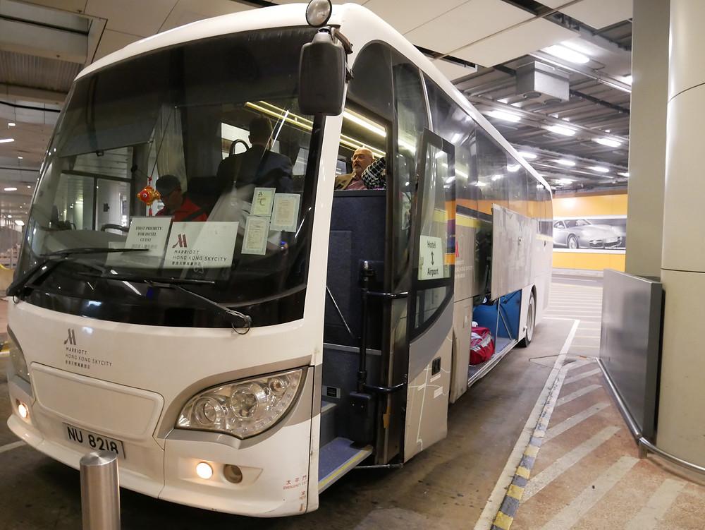 スカイシティマリオット 送迎バス