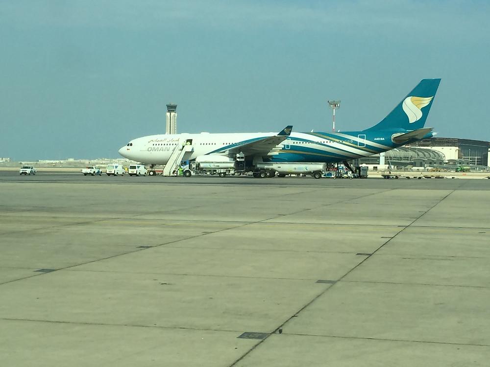 オマーン航空飛行機