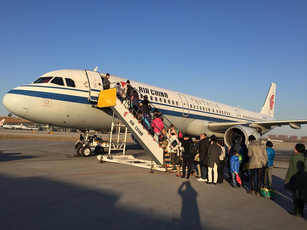 中国国際航空 A321
