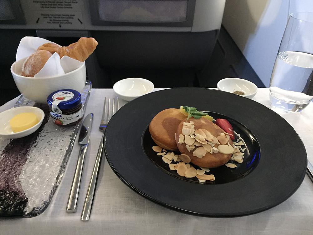 ガルーダインドネシア航空 朝食