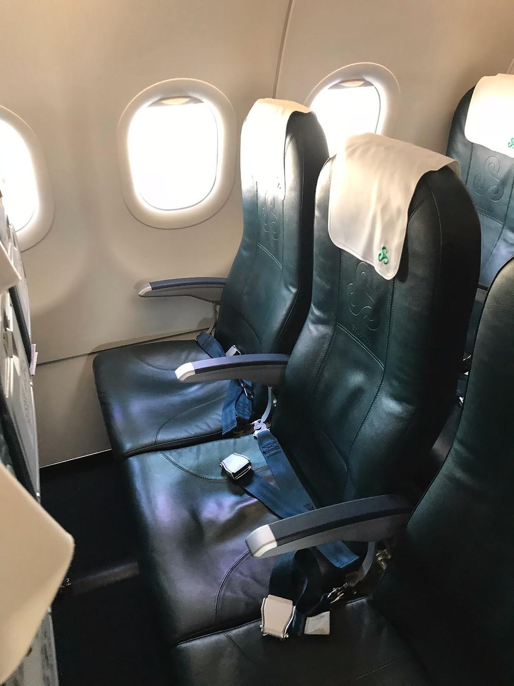 春秋航空機内 シート