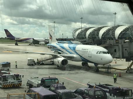 バンコクエアウェイズ エコノミークラス搭乗記 バンコク(スワンナプーム)~チェンマイ 2017年9月