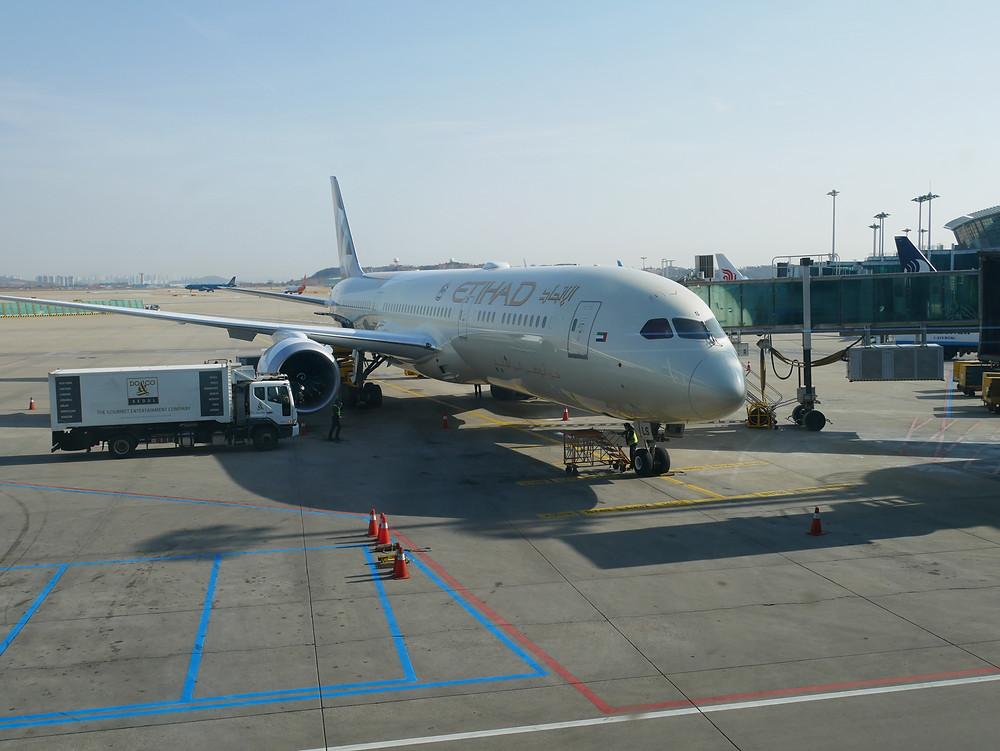 エティハド航空 ボーイング787