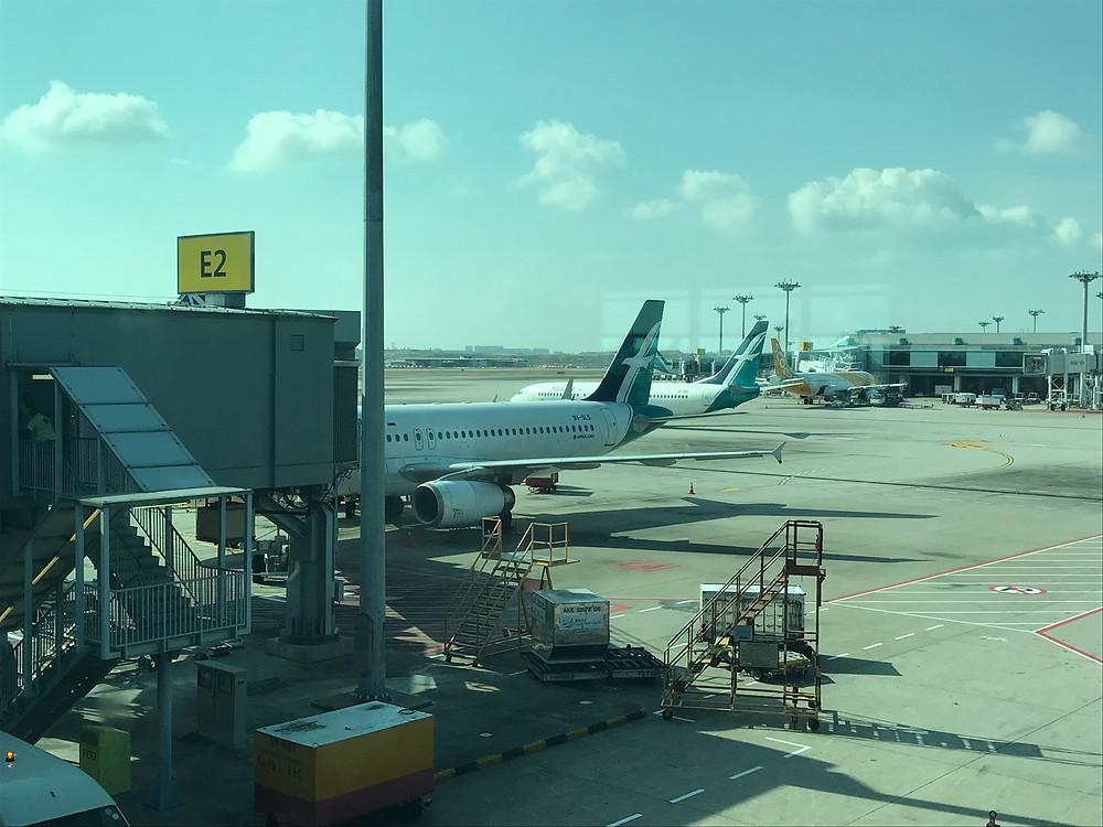 シンガポール空港 シルクエアー A320