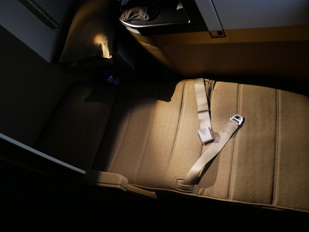 エティハド航空 ビジネスクラス シート