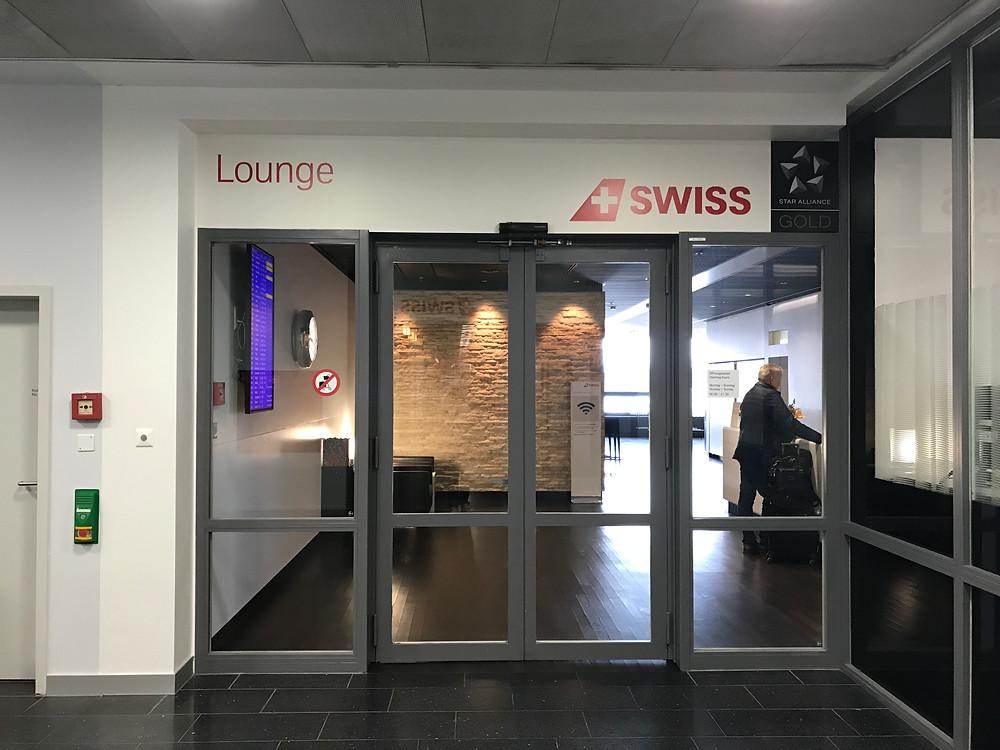 スイス航空 チューリッヒ空港 ビジネスクラスラウンジ入り口
