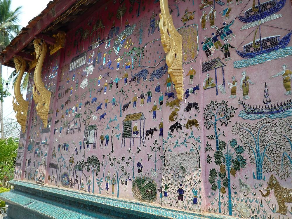 ルアンパバーン 寺院