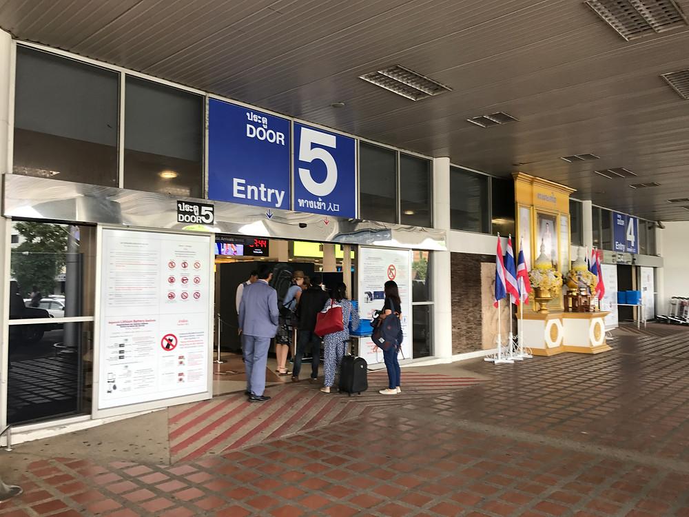 チェンマイ国際空港 国内線ターミナル