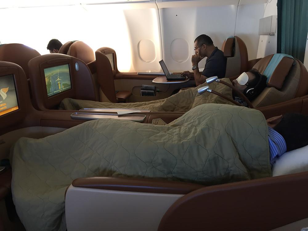 オマーン航空ビジネスクラス