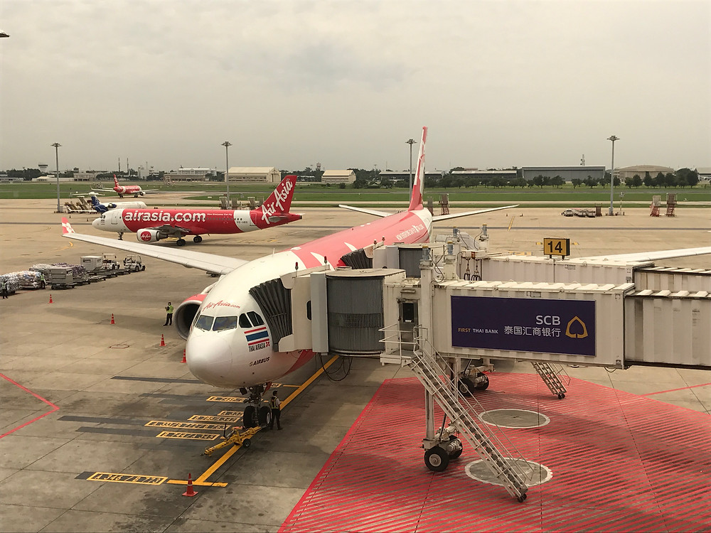 バンコク ド ンムアン空港 エアアジア