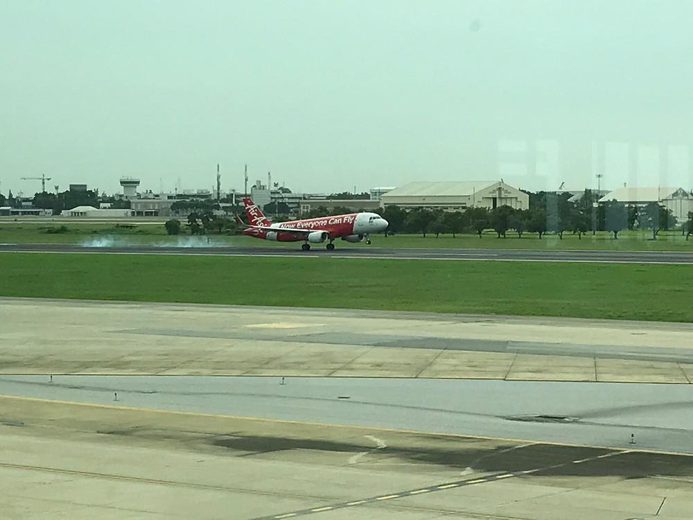 バンコク ドンムアン空港 エアアジア