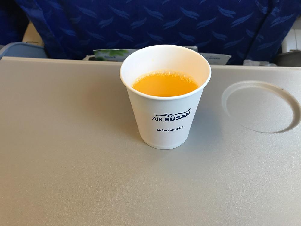 エアブサン オレンジジュース