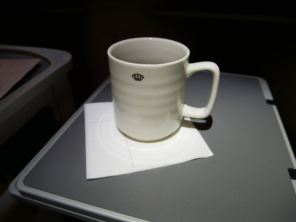 ロイヤルヨルダン航空 ビジネスクラス マグカップ