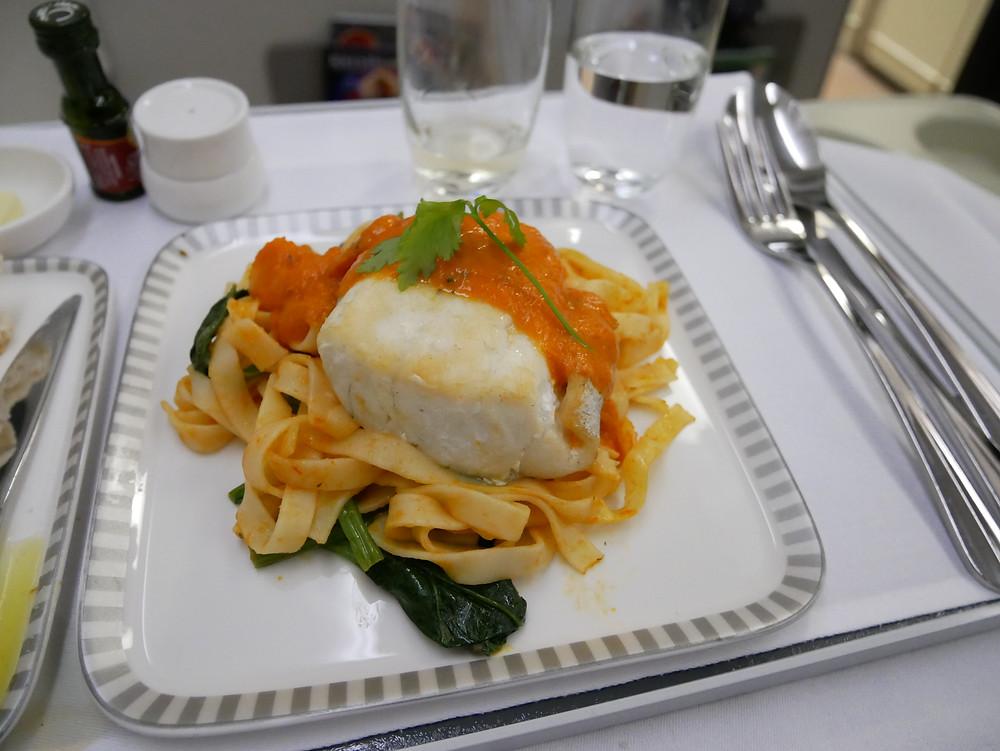 シンガポール航空 ビジネスクラス 機内食