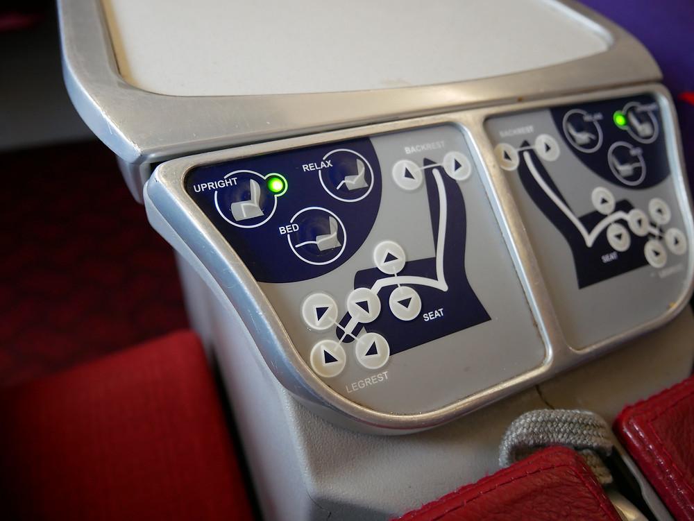 香港航空 ビジネスクラス座席