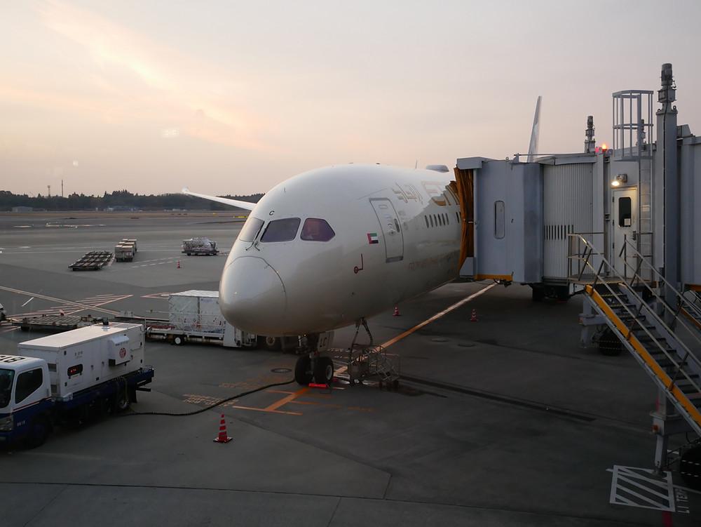 エティハド航空 B787