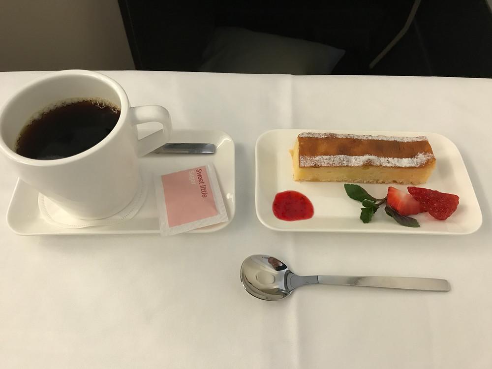 スイスインターナショナルエアラインズ 機内食