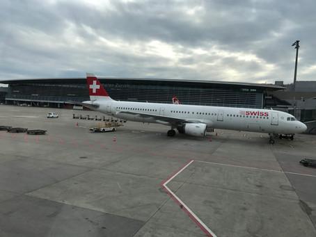 スイスインターナショナルエアラインズ チューリッヒーカイロ ビジネスクラス搭乗記 2017年4月
