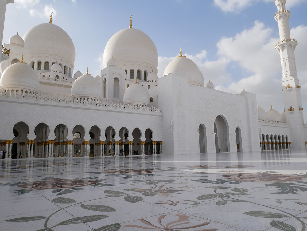  アブダビ シェイクザイード グランドモスク