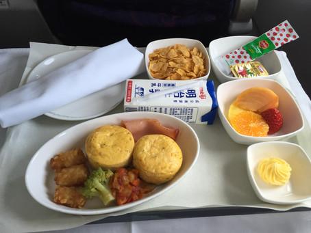 中国国際航空(エアチャイナ) ビジネスクラス搭乗記 羽田~北京 2015年12月