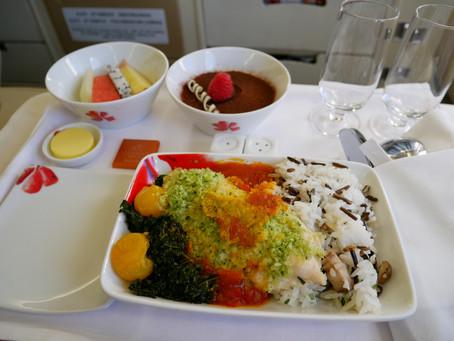 香港航空 ビジネスクラス 香港~台北 2018年12月