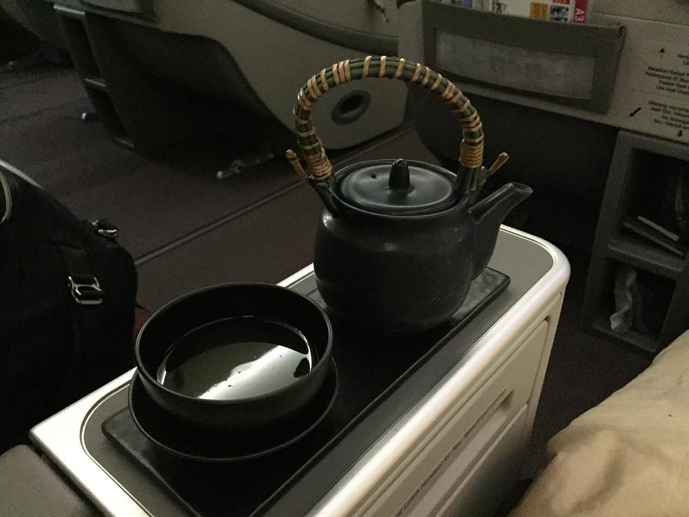 ガルーダインドネシア航空 日本茶