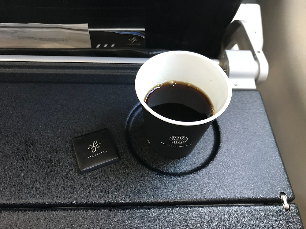 スターフライヤー 機内飲み物 コーヒー