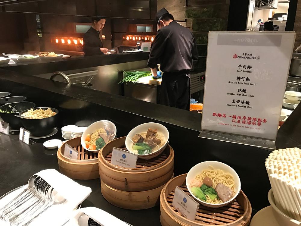 Noodle area