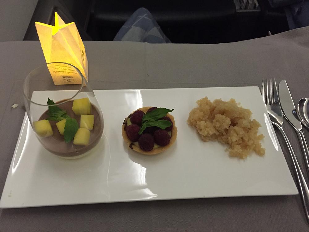 ターキッシュエアラインズ 機内食 デザート