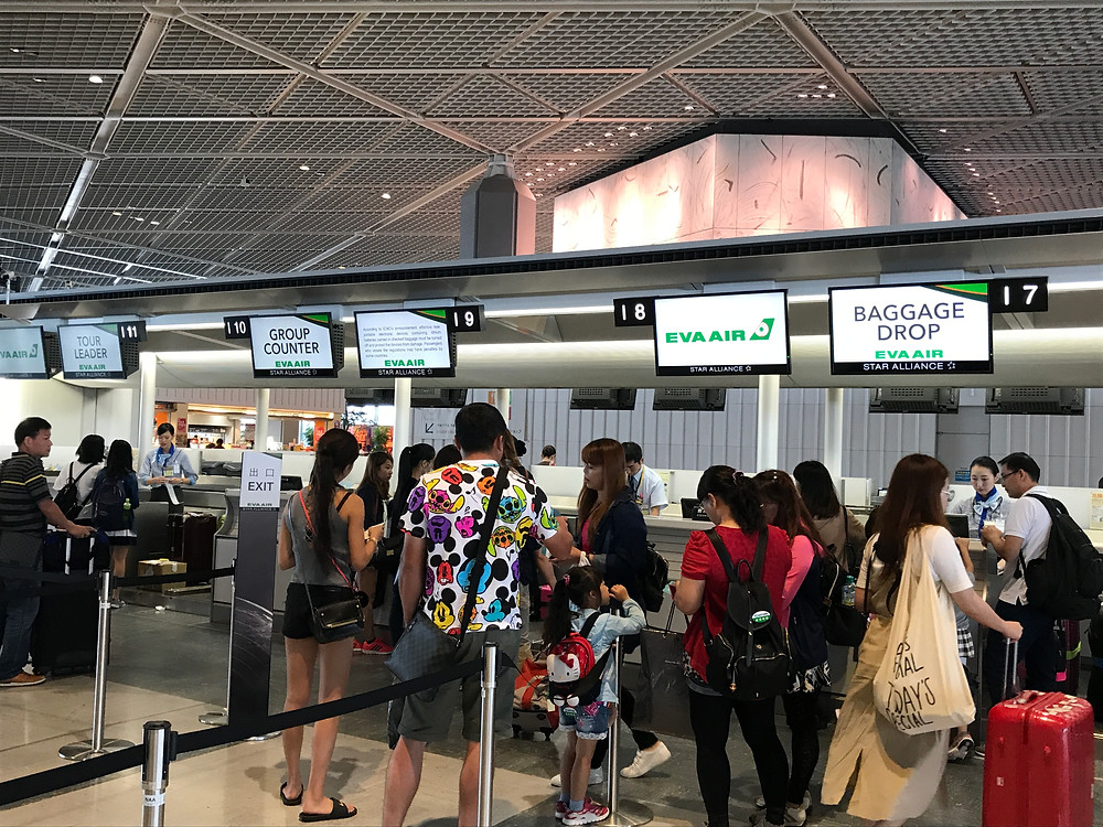 エバー航空 成田空港