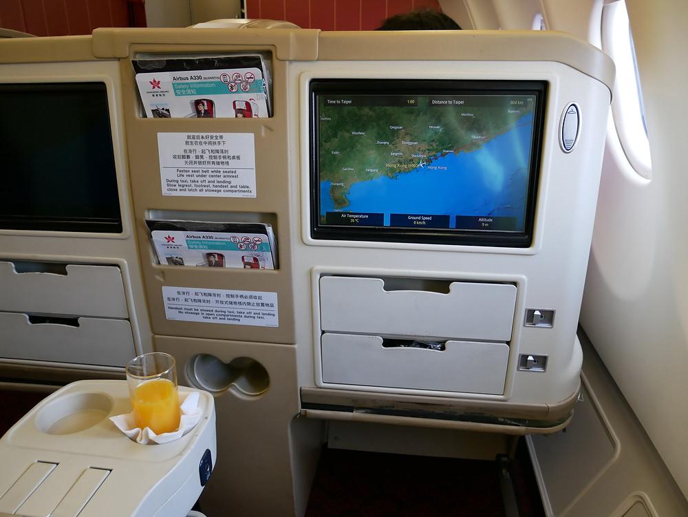 香港航空 ビジネスクラス シート