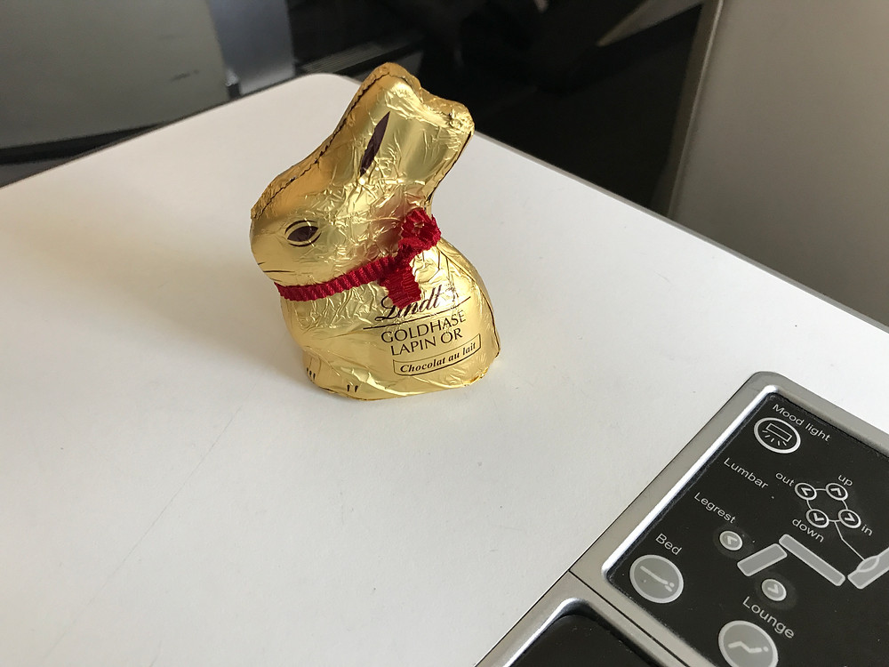 スイスインターナショナルエアラインズ チョコレート