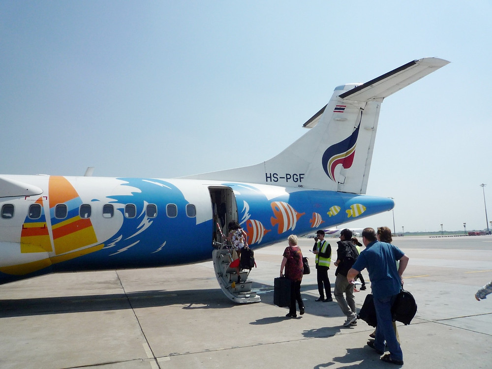 バンコクエアウェイズ ATR72