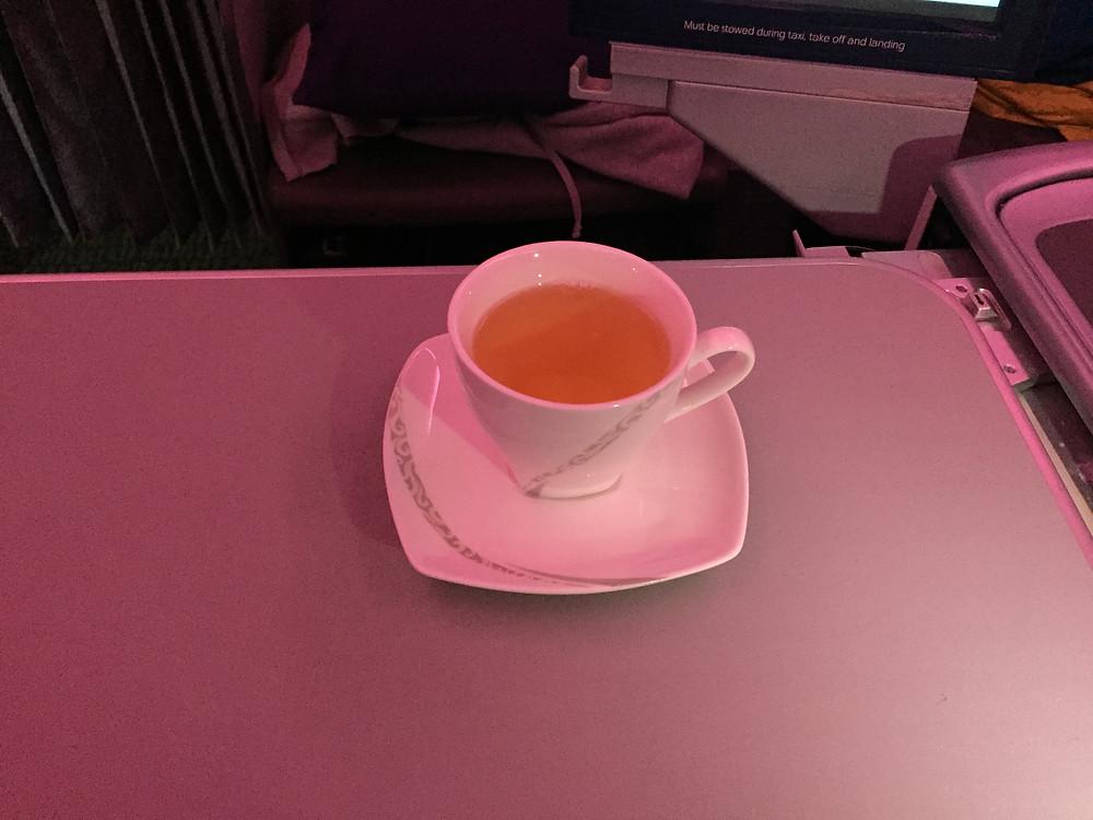 中国国際航空 機内