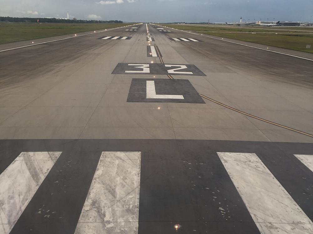 KLM 窓からの眺め