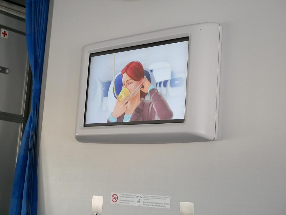 LOTポーランド航空 保安ビデオ