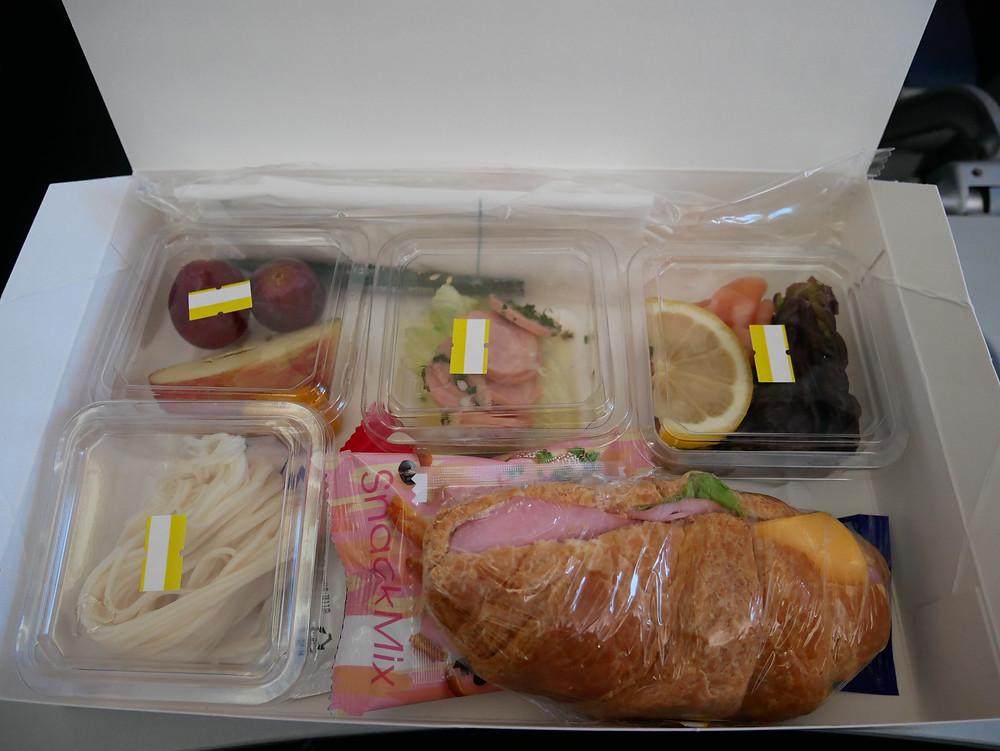 ANA 金浦線 機内食