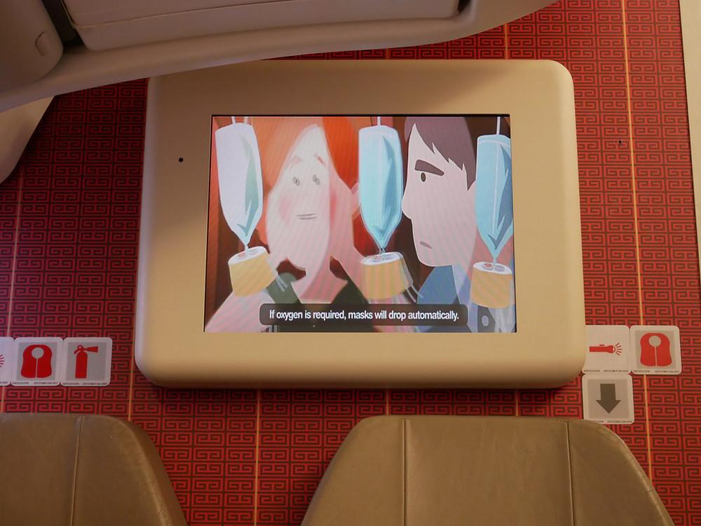 香港航空 保安ビデオ