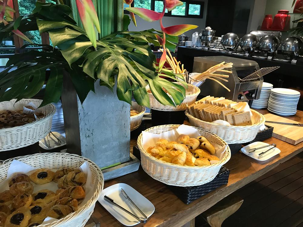 ベランダ チェンマイ ザ ハイ リゾート 朝食