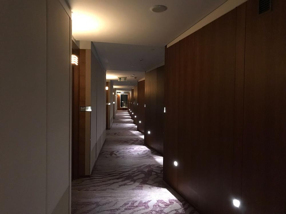 ノボテル シティーゲート 香港 廊下
