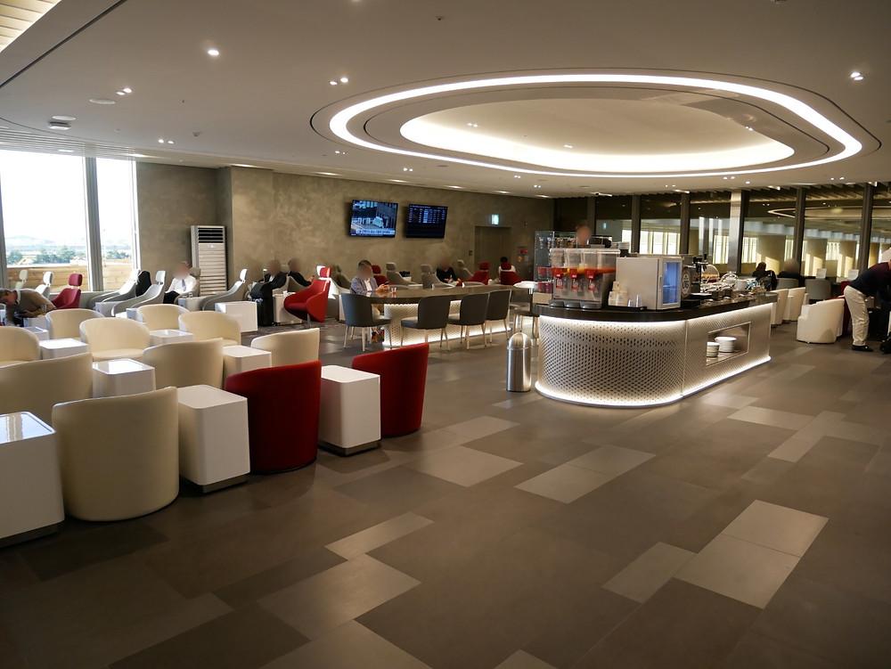 金浦空港 国際線ターミナル 大韓航空ラウンジ