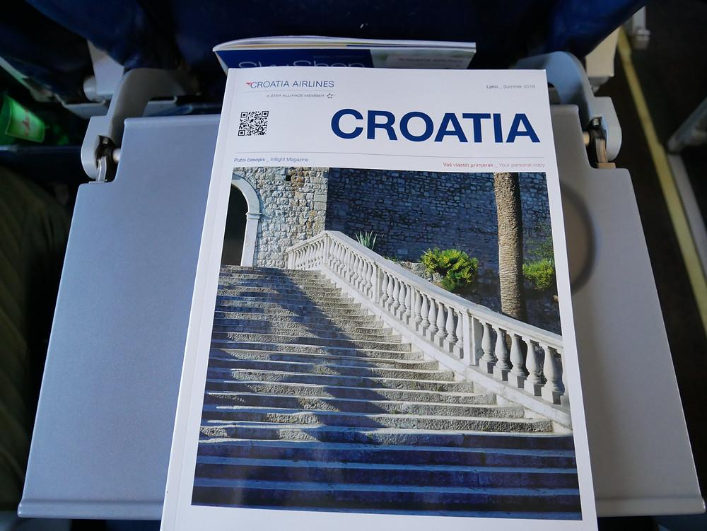 クロアチア航空 機内誌