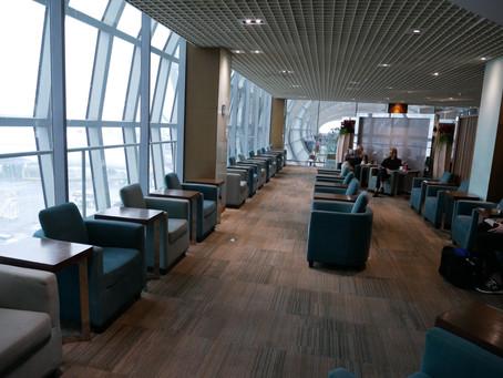 タイ国際航空 ビジネスクラスラウンジ(Royal Silk Lounge) バンコク・スワンナプーム コンコースE