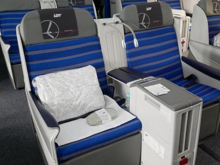 LOTポーランド航空 ビジネスクラス搭乗記ソウル・仁川〜ワルシャワ 2018年8月
