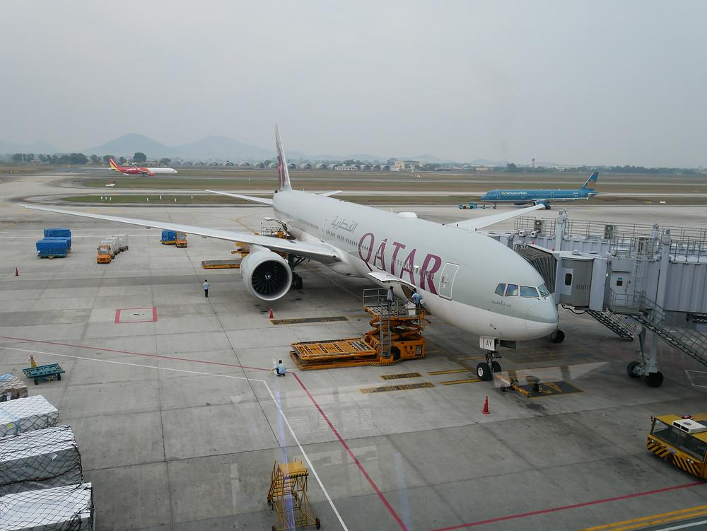カタール航空 ボーイング777-300ER